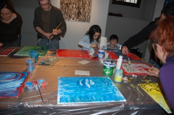 Workshop sui 4 elementi - Arte in Tasca