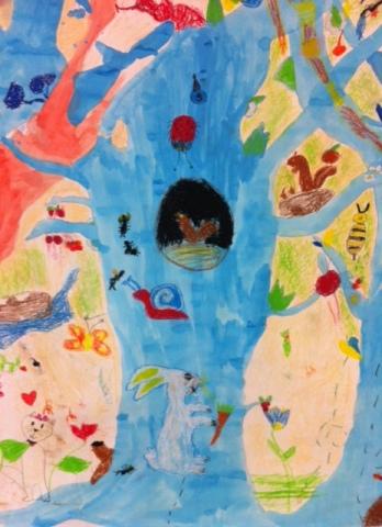 La foresta - scuola primaria, Libero Atelier
